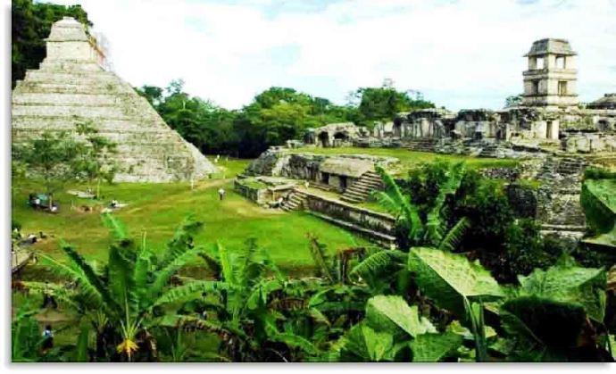 Palenque Chiapas Mexico Bill Bell