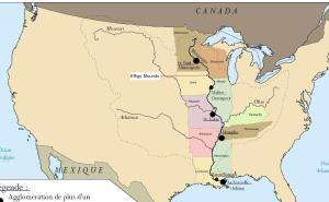 Rio Mississippi mapa