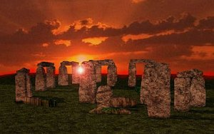 Stonehenge al amanecer Groupes Joëlle Adam