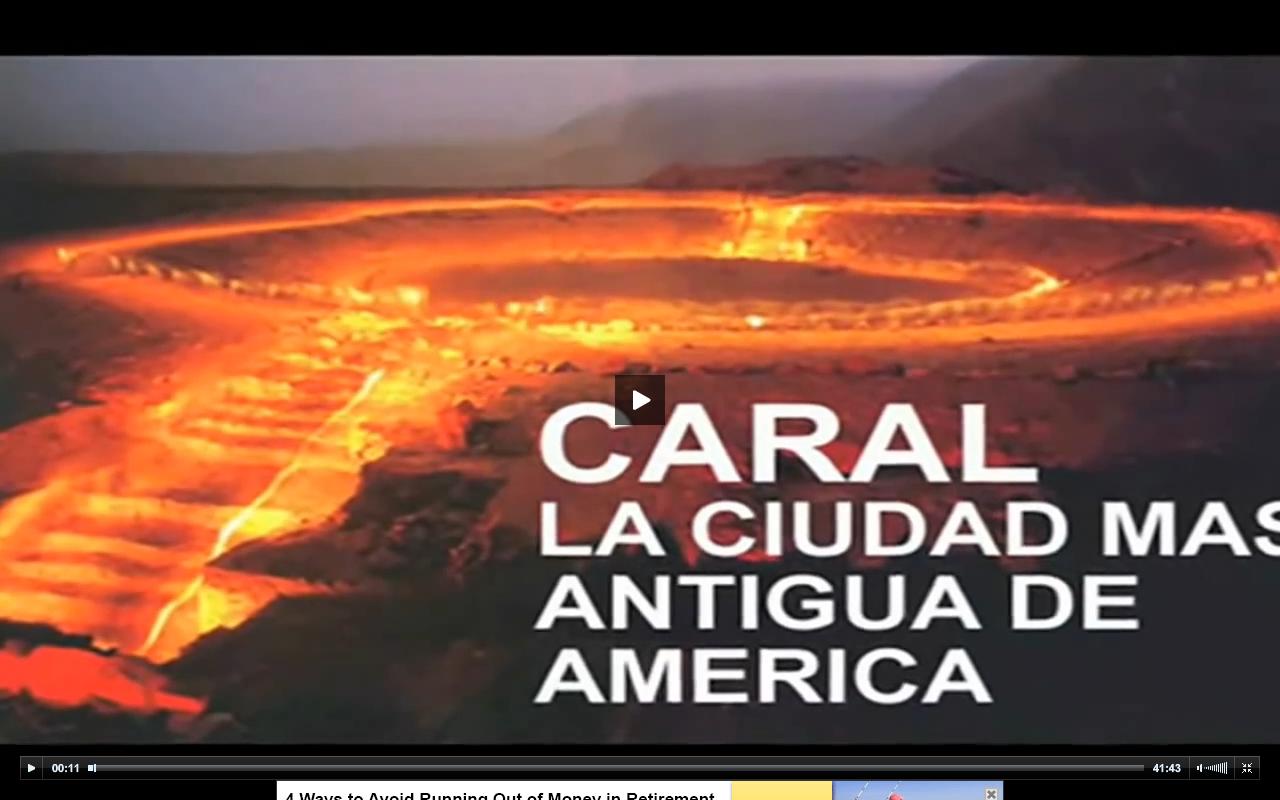 CARAL, PIRÁMIDES MÁS ANTIGUAS DE PERÚ – VIDEO- AMOR SÍ, GUERRA NO