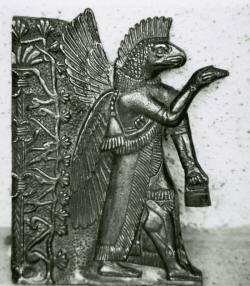 Coleccion padre Crespi dios reptil o pez semeja dios sumerio