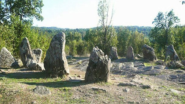 Crómlech en Dolni Glavanak Bulgaria