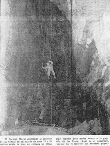 Descenso en la Cueva de los Tayos