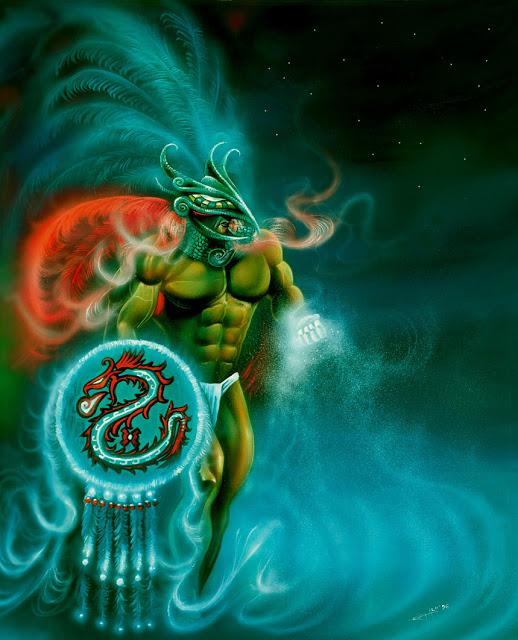 Ehecatl_ Quetzalcoatl by_Raro666