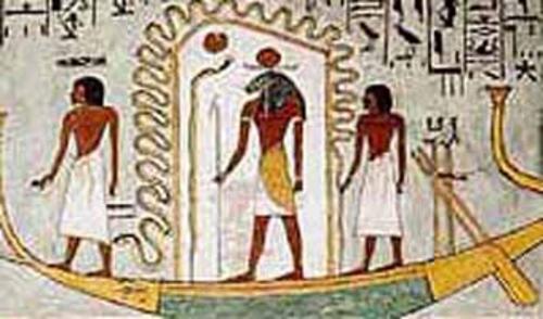Mehen serpiente sagrada de Egipto