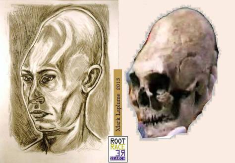 Cráneos largos extraterrestres