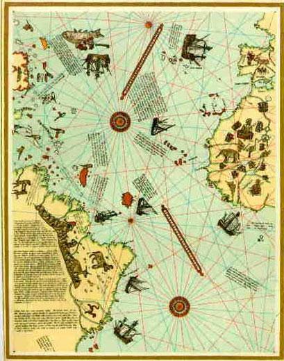 Mapa de Piri Resi