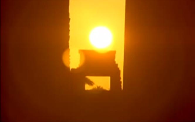 Templo de Karnak Egipto solsticio de invierno