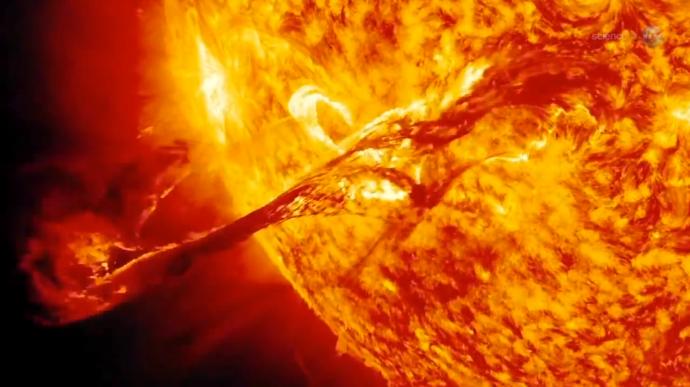 Viento solar 2 NASA