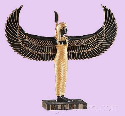 maat diosa alada egipcia de la justicia