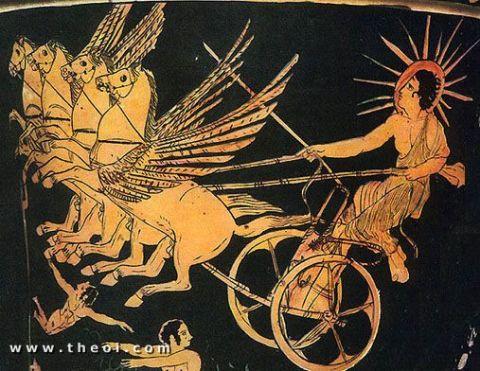 Apolo Helios dios griego del Sol