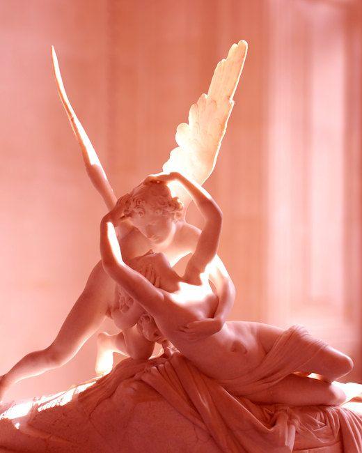 Cupido y Psuche Museo Louvre Paris