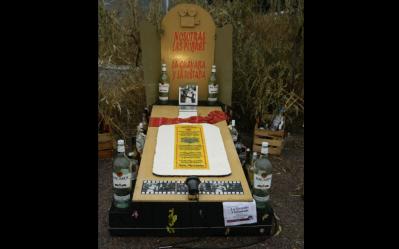 ofrenda dia de muertos bebidas flickr panteon