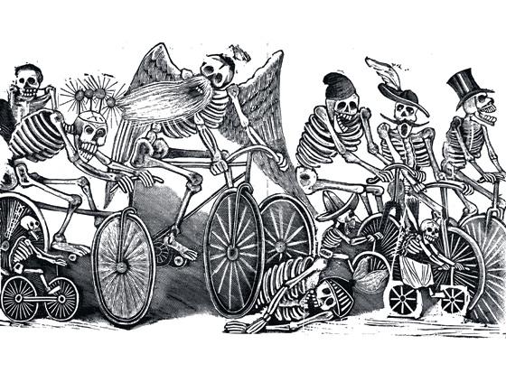 posadas56_1 Catrina en bicicleta