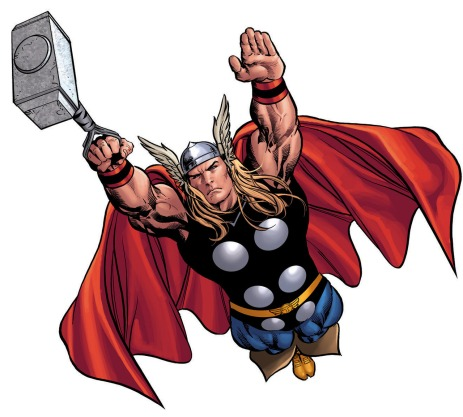 Thor volando