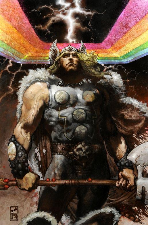 Dios nordicoThor hijo de Odin