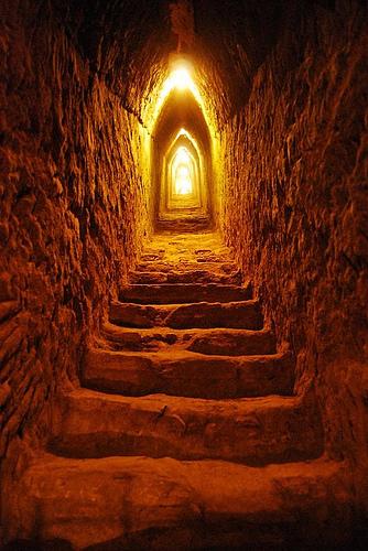 Tunel de la gran piramide de Cholula
