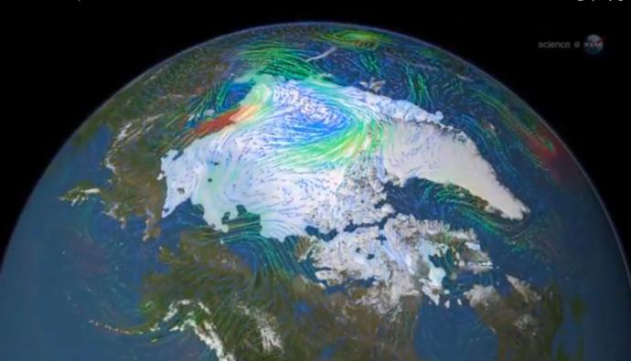 Artico hielo