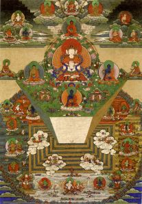 Bhutanese_thanka_of_Mt._Meru_and_the_Buddhist_Universe Uploaded by Fountain Posters