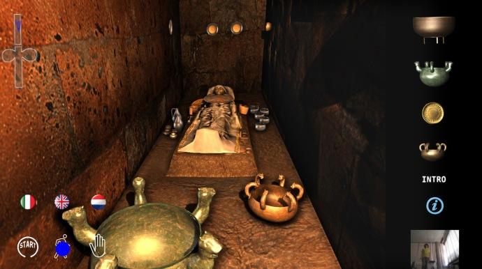 Ajuar funerario etrusco