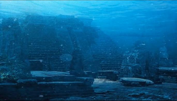 Hallazgo submarino Cuba  estructuras posible Atlantida