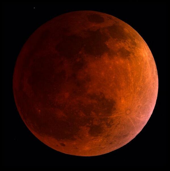 Luna de sangre #PrimerEclipseDel2014
