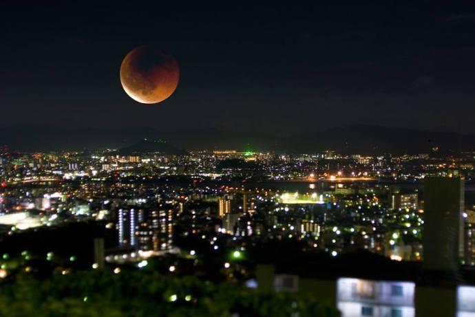 luna roja eclipse