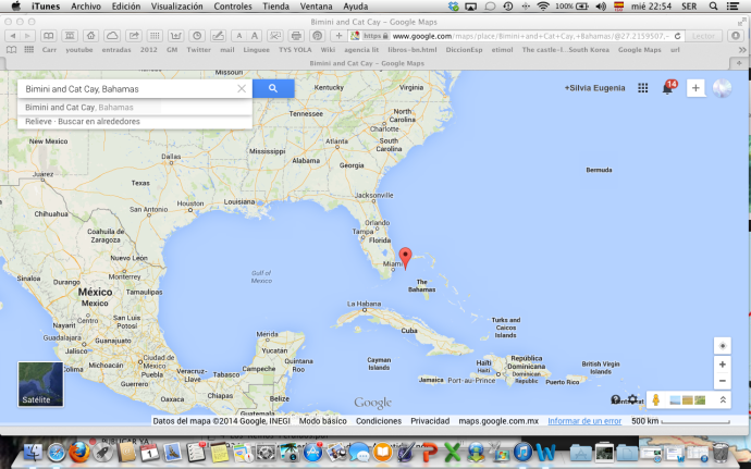Mapa Google Bimini