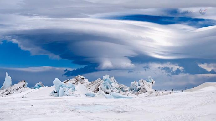 Mar Artico nubes