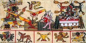 Mictlan lugar de los muertos de los aztecas