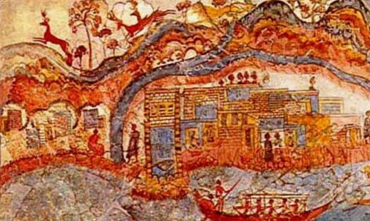 Minoans traded with Egypt Anatolia MesopotamiaGreece and Spain