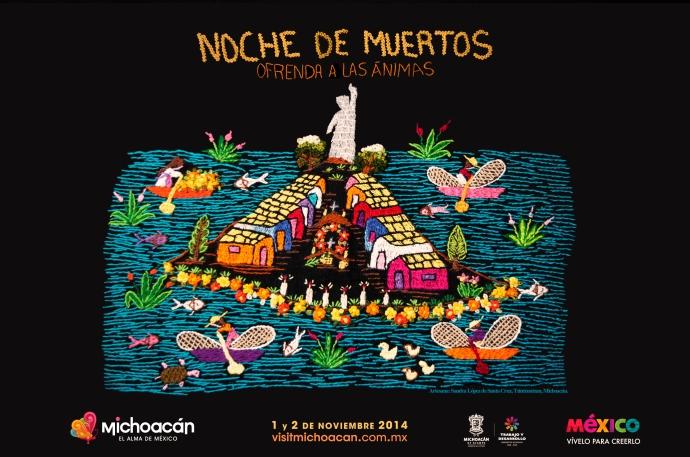 Noche de muertos Michoacan