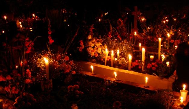 ofrenda dia de muertos-xochimilco