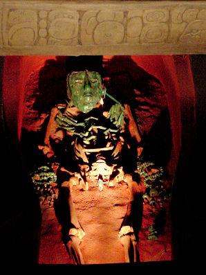 Pakal ajuar funerario maya