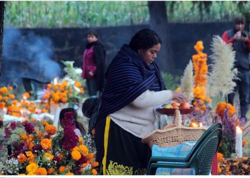 Patzcuaro Michoacan dia de muertos EL UNIVERSAL RCC