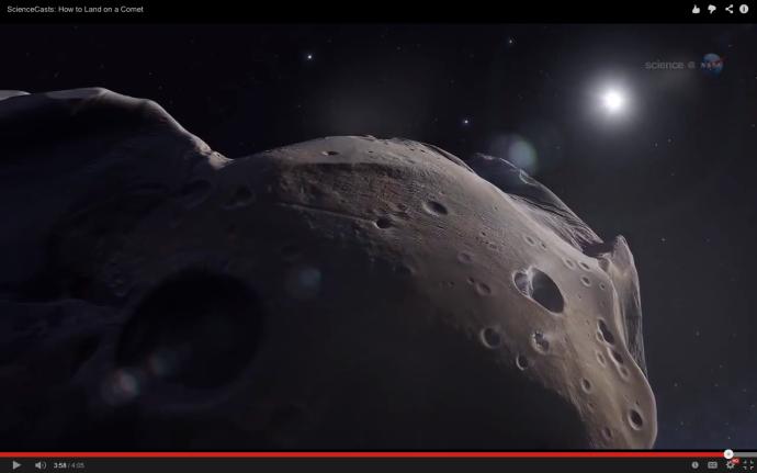 cometa 67P:Churyumov–Gerasimenko NASA
