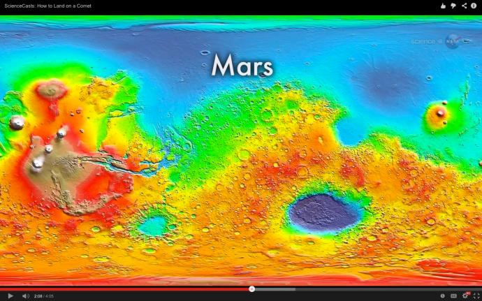 Marte foto NASA