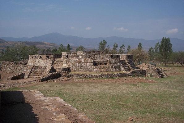 monumento a Quetzalcoatl o Ehecatl Zona arqueológica Los Toriles en Ixtlán del Río Nayarit, México