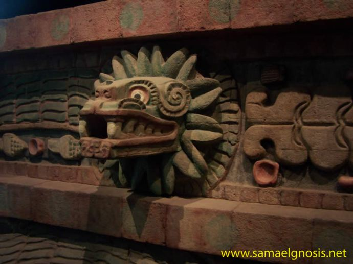quetzalcoatl en Teotihuacan