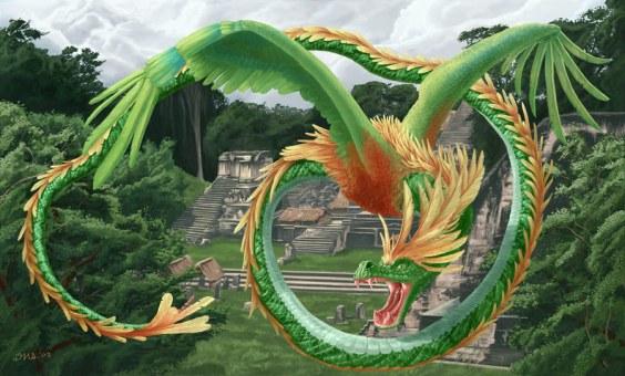 Serpiente preciosa Quetzalcoatl_web900