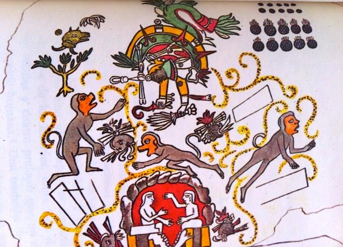 AZTECAS SEGUNDO SOL NAUHUECATL (4 viento).DE LOS CUATRO SOLES EN HUMBOLDT