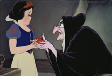 blancanieves y la bruja