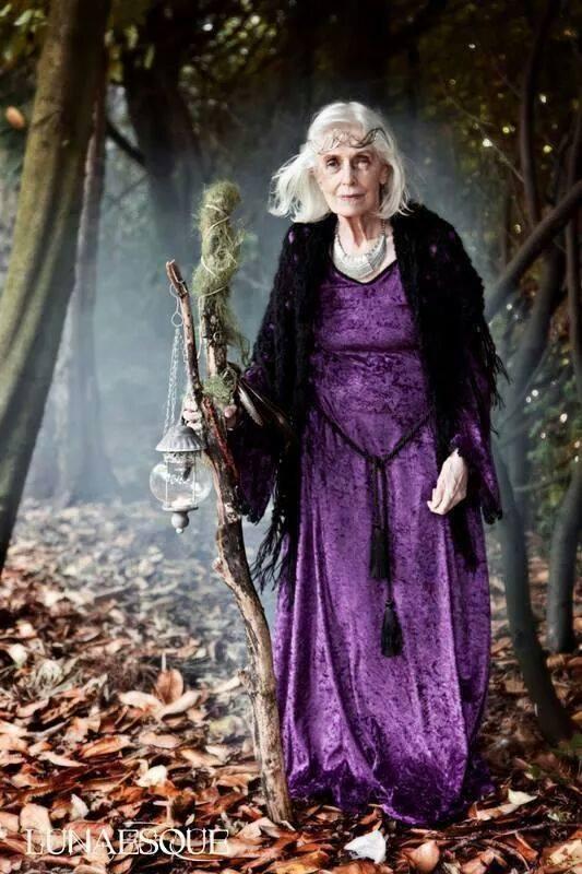 bruja bosque anciana sabia