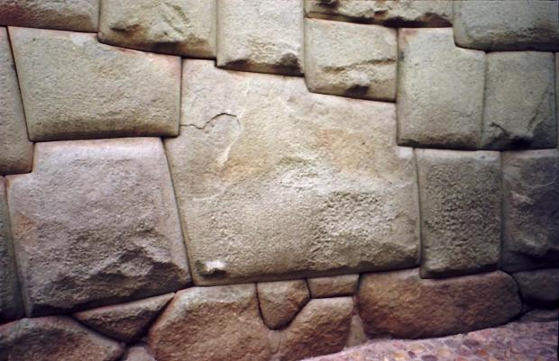 Piedra doce angulos