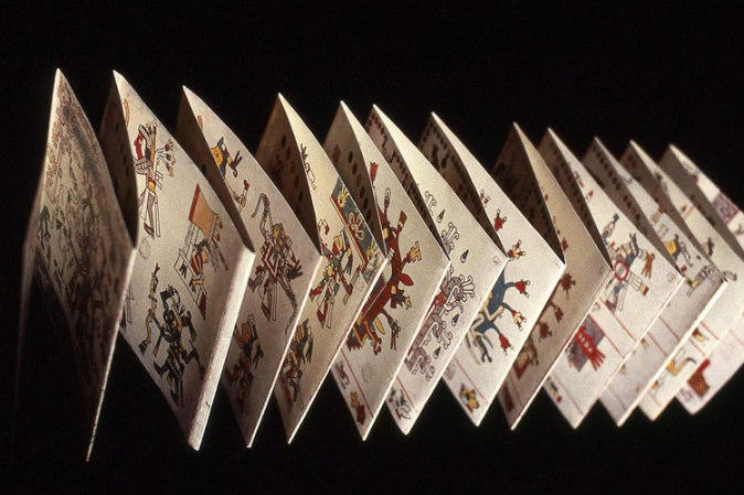 Codices mexicanos formato