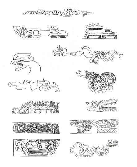 Dragones Mesoamerica