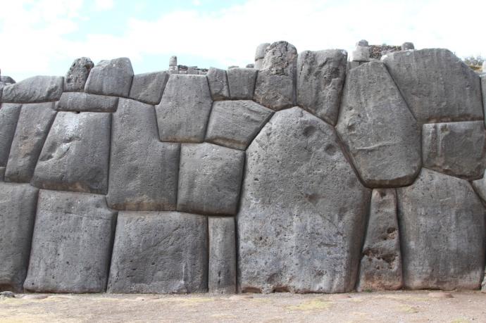 Sacsayhuaman piedras encaje perfecto