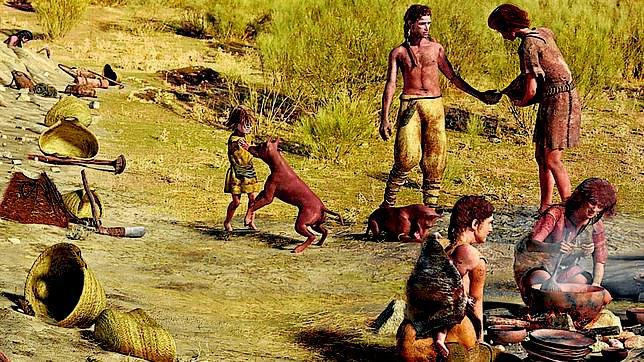 Perros domesticados hace miles de años