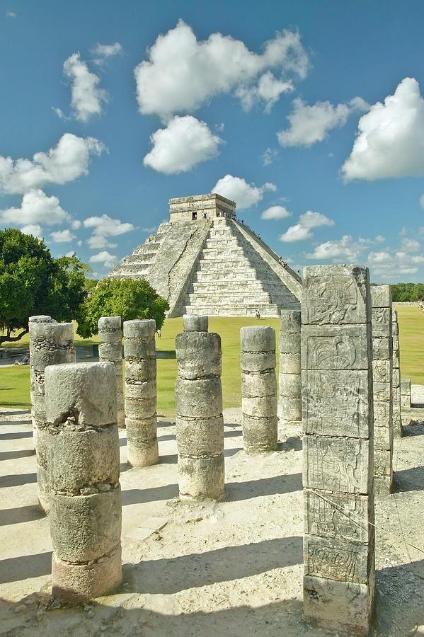 Las Mil Columnas y la piramide de Kukulkan