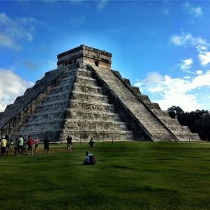 templo de Kukulkan Chichen Itza Mexico